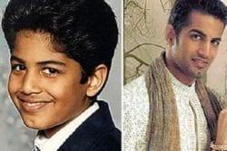 Upen Patel Childhood Photo