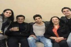 Sidharth Malhotra Family Photo