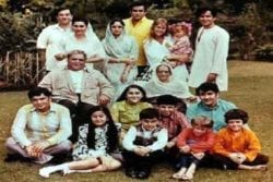 Raj Kapoor Family Photo