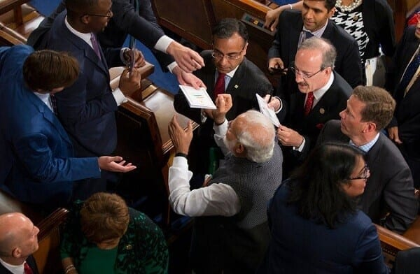 Narendra Modi Autograph
