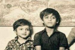 Sohail Khan Childhood Photo