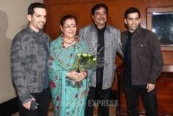 Shatrughan Sinha Family Photo