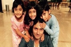Shirish Kunder Family Photo