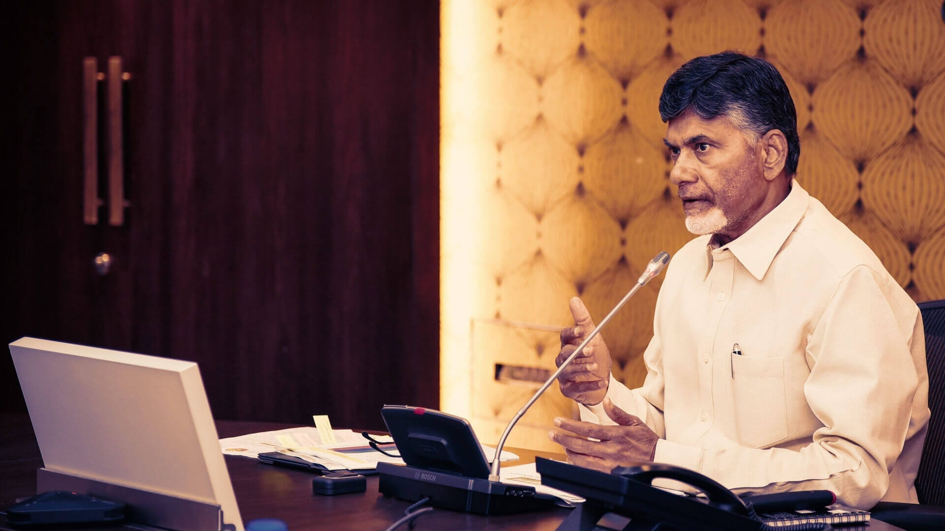 How to Meet Chandrababu Naidu