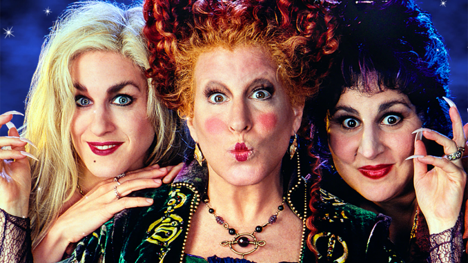 Hocus Pocus cast members Bette, Sarah, and Kathy to reunite for Halloween