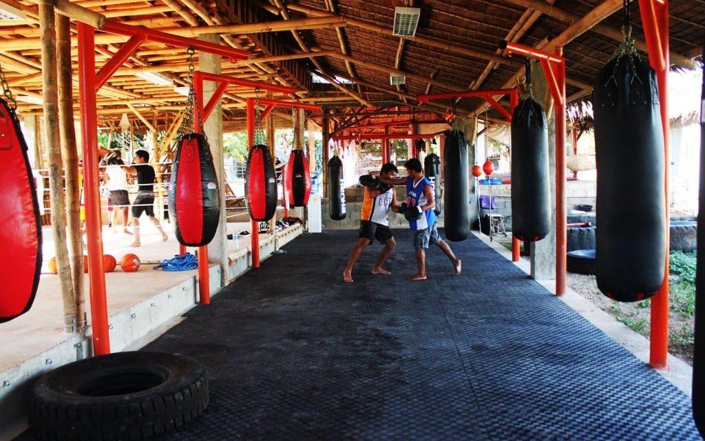 Gym of Muay Thai