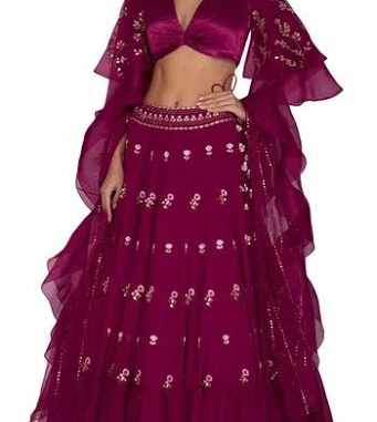 other than red lehengas for wedding