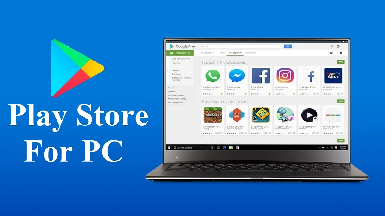 Play Store Download For PC Windows 7