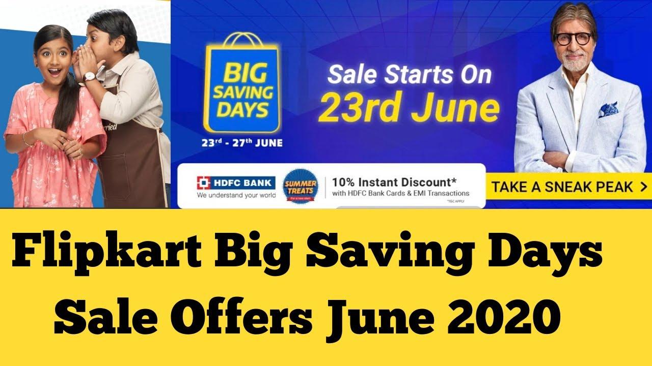 Flipkart Sale in June 2020