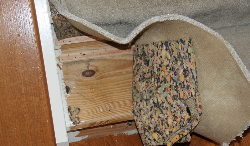 Remove Carpet from Stairs