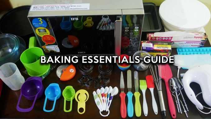 Baking Essentials for Beginners