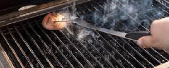 how to clean grill grates rust
