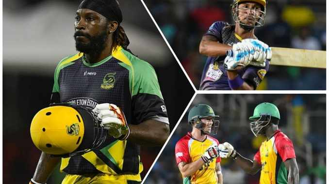 Most Runs by CPL Players